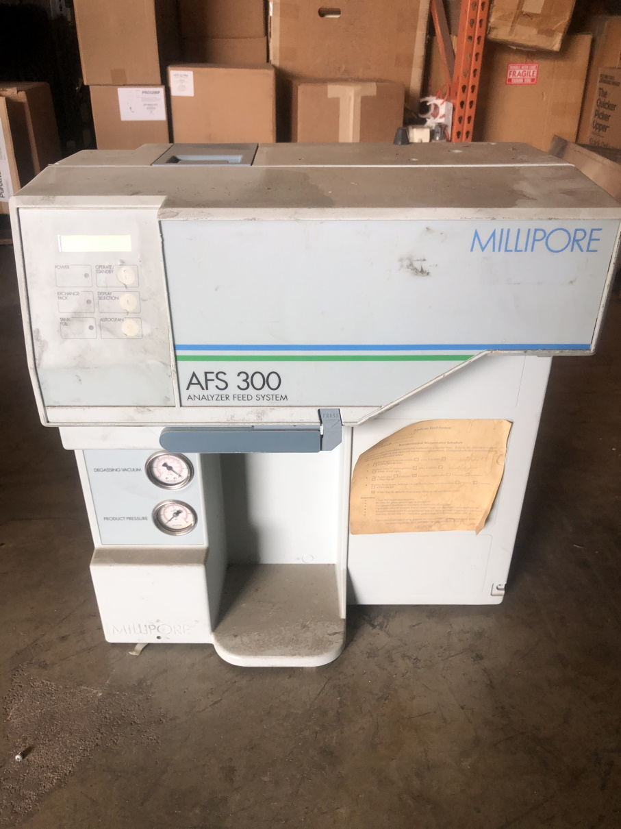 ZDAF3115D-USED  - AFS 300 MILLIPORE ANALYZER FEED SYSTEM NO TANK