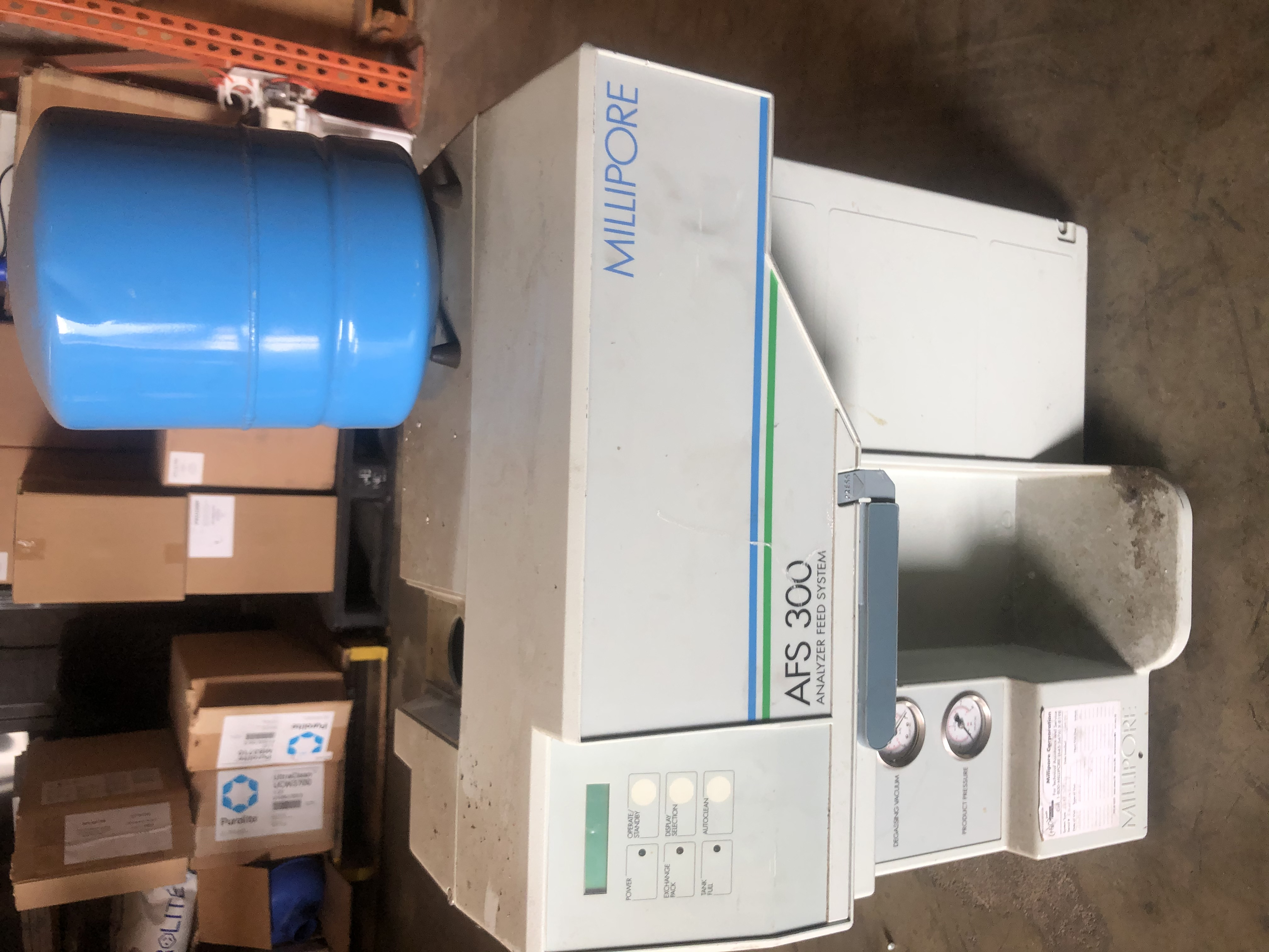 ZDAF3115D-USED  - AFS 300 MILLIPORE ANALYZER FEED SYSTEM